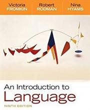 کتاب An Introduction to Language 9th Edition