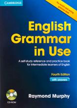 کتاب انگلیش گرامر این یوز ویرایش چهارم  English Grammar in Use 4th+CD