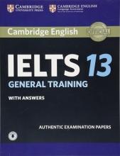 کتاب آیلتس کمبریج 13 جنرال IELTS Cambridge 13 General+CD