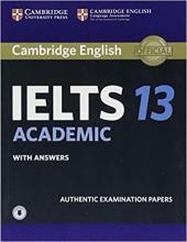 کتاب آیلتس کمبریج 13 آکادمیک  IELTS Cambridge 13 Academic+CD