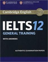 کتاب آیلتس کمبریج 12 جنرال  IELTS Cambridge 12 General+CD