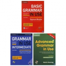 مجموعه سه جلدی گرامر این یوز امریکن Grammar In Use American English
