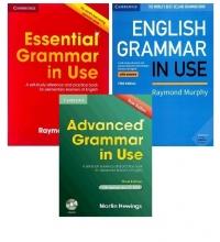 پک 3 جلدی گرامر این یوز بیریتیش Grammar in Use British