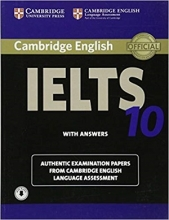 کتاب آیلتس کمبریج 10 IELTS Cambridge 10+CD
