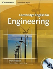 کتاب Cambridge English for Engineering Students Book with CD