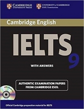 کتاب آیلتس کمبریج 9 IELTS Cambridge 9+CD