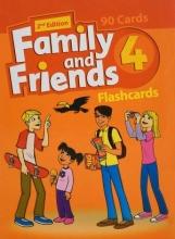 فلش کارت فمیلی اند فرندز 4 ویرایش دوم Family and Friends 4 2nd