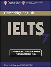 کتاب آیلتس کمبریج 7  IELTS Cambridge 7+CD