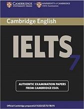 کتاب IELTS Cambridge 7+CD