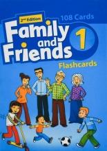 فلش کارت فمیلی اند فرندز 1 ویرایش دوم Family and Friends 1 2nd