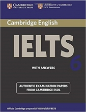 کتاب آیلتس کمبریج 6 IELTS Cambridge 6+CD
