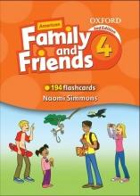 فلش کارت امریکن فمیلی اند فرندز ویرایش دوم  American Family and Friends 4 Second Edition