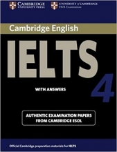 کتاب آیلتس کمبریج 4 IELTS Cambridge 4+CD
