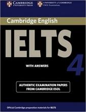 کتاب IELTS Cambridge 4+CD