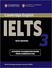 کتاب آیلتس کمبریج 3 IELTS Cambridge 3+CD