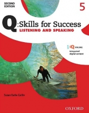 کتاب Q Skills for Success 5 Listening and Speaking 2nd+CD