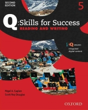 کتاب Q Skills for Success 5 Reading and Writing 2nd +CD