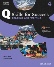 کتاب Q Skills for Success 4 Reading and Writing 2nd +CD