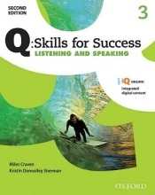 کتاب Q Skills for Success 3 Listening and Speaking 2nd +CD