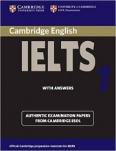 کتاب آیلتس کمبریج 1 IELTS Cambridge 1+CD