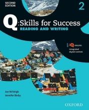کتاب زبان کیو اسکیلز فور ساکسس Q Skills for Success 2 Reading and Writing 2nd +CD