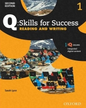 کتاب Q Skills for Success 1 Reading and Writing 2nd +CD