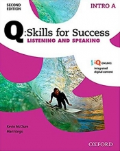 کتاب Q Skills for Success 2nd Intro Listening and Speaking+CD