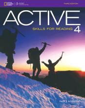 کتاب اکتیو اسکیلز فور ریدینگ 4 ویرایش سوم ACTIVE Skills for Reading 4 3rd Edition