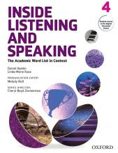 کتاب اینساید لیسنینگ و اسپیکینگ 4 Inside Listening and Speaking 4+CD