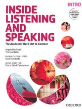 کتاب اینساید لیسنینگ و اسپیکینگ اینترو  Inside Listening And Speaking Intro+CD
