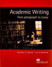 کتاب Academic Writing from paragraph to essay