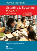 کتاب ایمپرو یور اسکیلز لیسنینگ اند اسپیکینگ فور آیلتس Improve Your Skills Listening and Speaking for IELTS 4.5-6.0