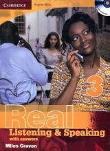 کتاب کمبریج انگلیش اسکیلز لسینینگ اند اسپیکینگ Cambridge English Skills Real Listening and Speaking 3