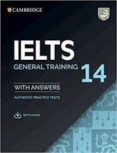 کتاب آیلتس کمبریج 14 جنرال  IELTS Cambridge 14 General+CD