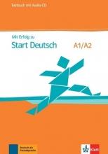 کتاب تست آزمون میت ارفوگ آلمانی MIT Erfolg Zu Start Deutsch A1 - A2: Testbuch MIT CD
