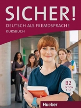 کتاب آلمانی زیشر sicher! B2 deutsch als fremdsprache niveau lektion 1-12 kursbuch + arbeitsbuch