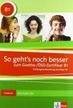 کتاب آزمون گوته آلمانی So gehts noch besser zum Goethe-/ÖSD-Zertifikat B1+ CDs سبز