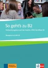 کتاب آلمانی So Geht's Zu B2: Ubungsbuch Mit MP3-CD رنگی