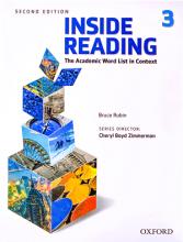 کتاب اینساید ریدینگ 3 ویرایش دوم Inside Reading 3 2nd