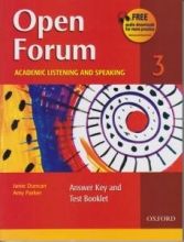 کتاب اپن فروم Open Forum 3 Student Book with Test Booklet & CD