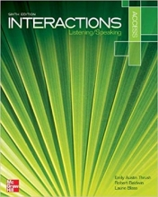 كتاب زبان اینتراکشن اکسس Interactions Access Listening And Speaking 6th Edition