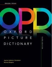 کتاب دیکشنری تصویری انگلیسی فارسی گالینگور-وزیری Oxford Picture Dictionary(OPD) 3rd English-Persian+CD