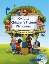 کتاب Oxford Childrens Picture Dictionary+CD