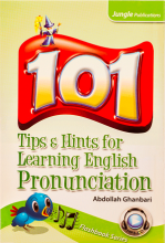 کتاب 101Tips Hints for Learning English Pronunciation