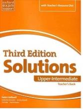 کتاب معلم سولوشنز پیری اینترمدیت ویرایش سوم  Teachers Book Solutions Upper Intermediate 3rd+CD