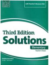 کتاب معلم سولوشنز المنتری ویرایش سوم  Teachers Book Solutions Elementary 3rd+CD