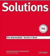 کتاب معلم سولوشنز پری اینترمدیت ویرایش سوم Teachers Book Solutions Pre-Intermediate 3rd +CD