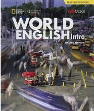 کتاب معلم ورلد انگلیش اینترو ویرایش دوم  World English 2nd Intro Teachers Book