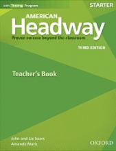 کتاب امریکن هدوی استارتر تیچر بوک ویرایش سوم American Headway 3rd Starter Teachers book