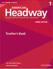 کتاب امریکن هدوی 1 تیچر بوک ویرایش سوم American Headway 3rd 1 Teachers book